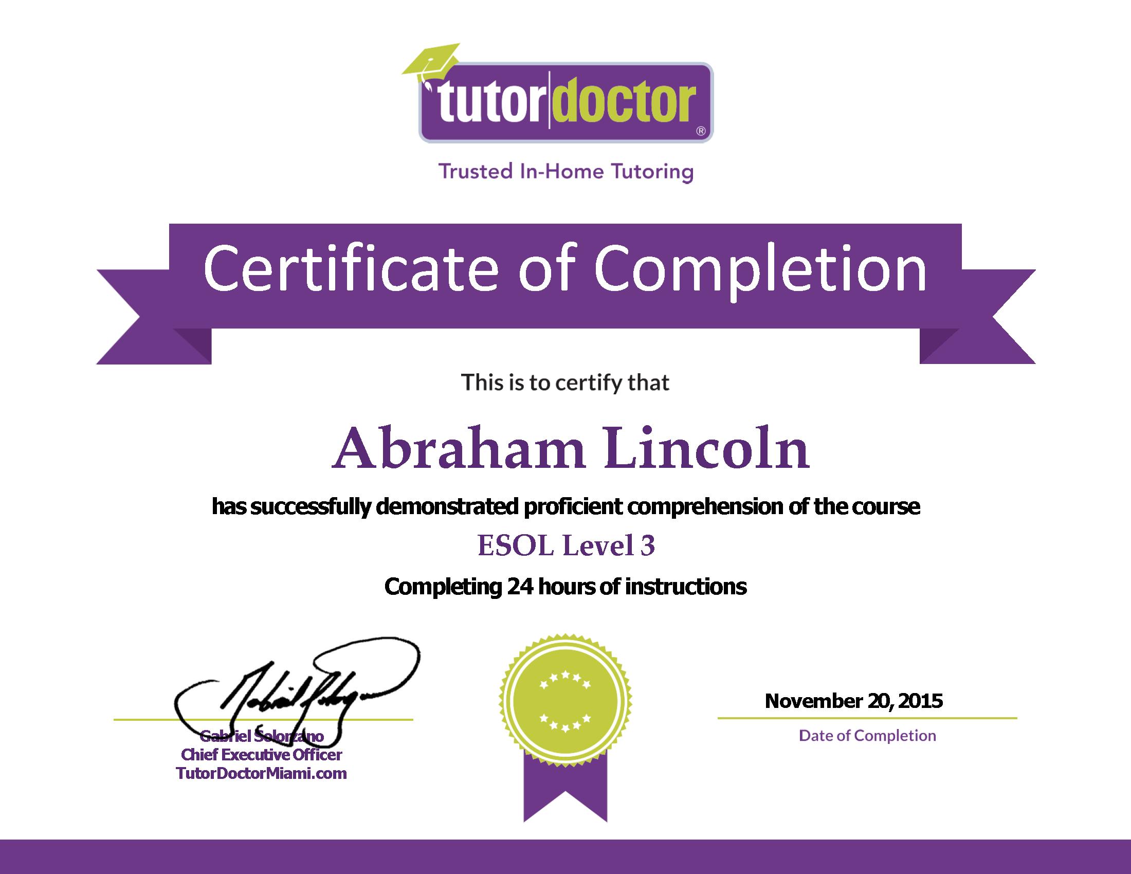 how to get esl certification